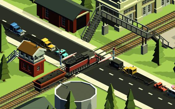 Railroad crossing mania - Ultimate train simulator скриншот 2