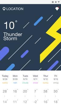 Weather screenshot 1