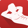 Abs workout A6W - flat belly at home icon