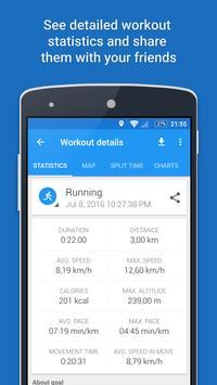 GPS Sports Tracker - Berlari, Berjalan & Bersepeda syot layar 4