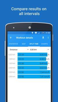 GPS Sports Tracker - Berlari, Berjalan & Bersepeda syot layar 5
