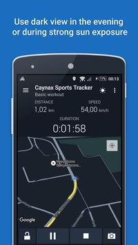 GPS Sports Tracker - Berlari, Berjalan & Bersepeda syot layar 2