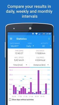 GPS Sports Tracker - Berlari, Berjalan & Bersepeda syot layar 3