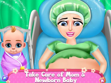 Pregnant Mommy And Baby Care: Babysitter Games poster