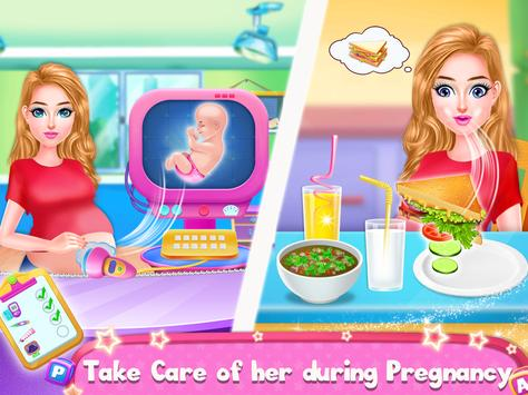 Pregnant Mommy And Baby Care: Babysitter Games screenshot 1