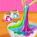 Rainbow Unicorn DIY Slime Making Simulator APK