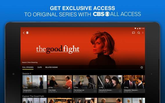 CBS All Access screenshot 1