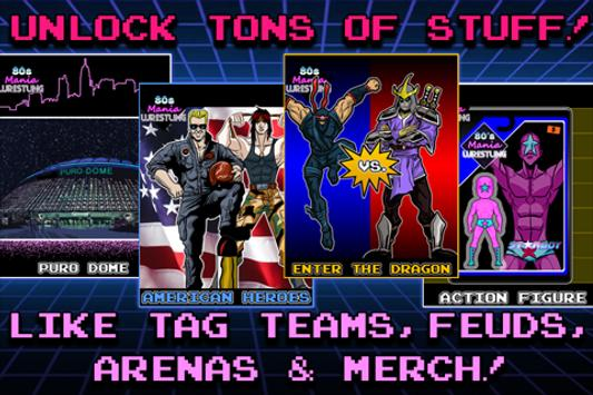 80s Mania Wrestling Returns imagem de tela 2