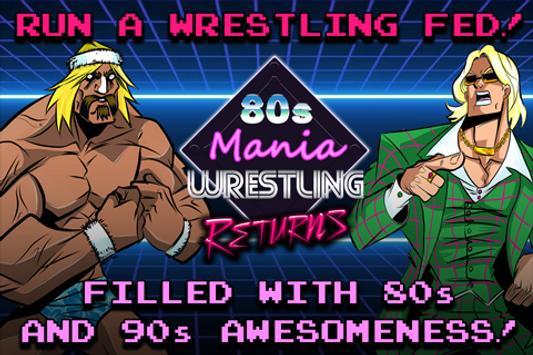 80s Mania Wrestling Returns Cartaz