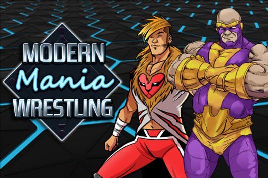 Poster Modern Mania Wrestling