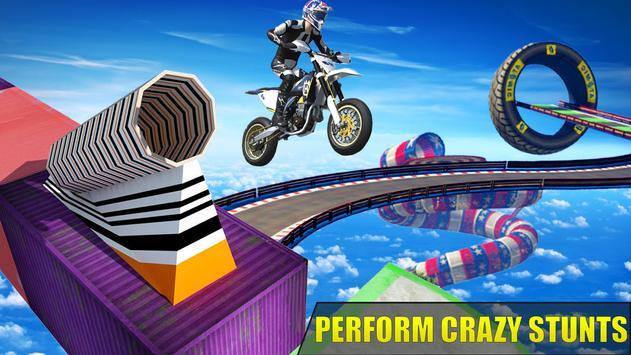 Hero Xtreme: Mega Stunts Bike Rider screenshot 1