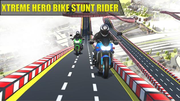Hero Xtreme: Mega Stunts Bike Rider screenshot 2