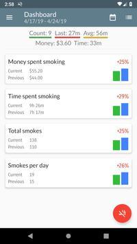 Smoking Log screenshot 1