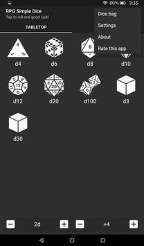 RPG Simple Dice 截圖 10