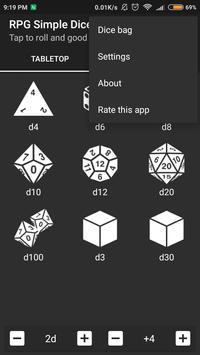 RPG Simple Dice 截圖 3