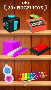 Fidget Toys 3D постер