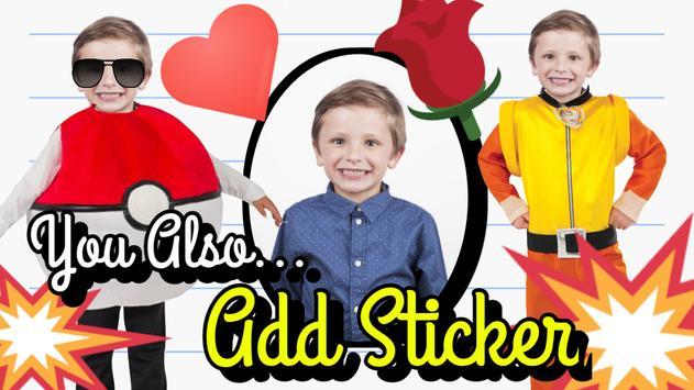 Kids Photo Suit Editor - Girls & Boys Suit screenshot 3