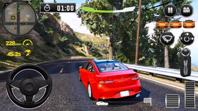 City Driving Hyundai Simulator screenshot 2