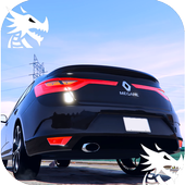 City Driving Renault Car Simulator icon