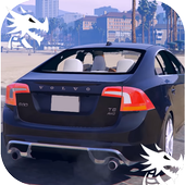 City Driving Volvo Car Simulator icon
