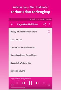 Lagu Gen Halilintar screenshot 3
