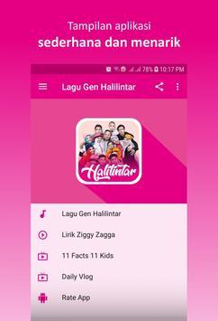 Lagu Gen Halilintar screenshot 1