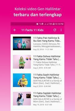 Lagu Gen Halilintar screenshot 7