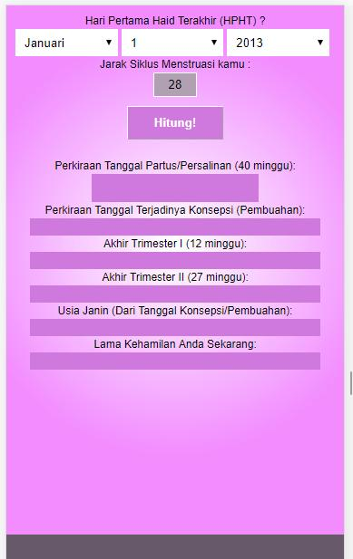 Cek Menghitung Usia Kehamilan V 2 Pregnancy Test For Android Apk Download