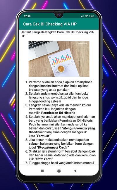 Cara Cek Bi Checking For Android Apk Download