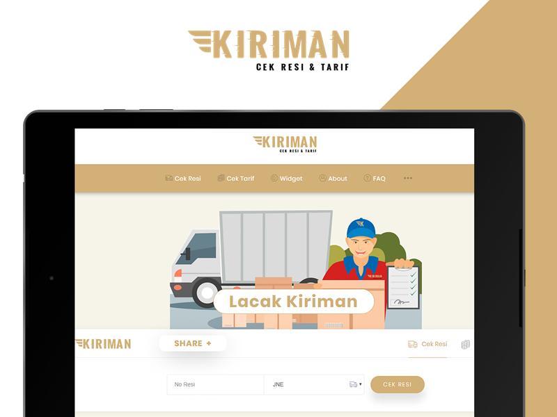 Cek Resi & Ongkir Tarif - Kiriman.net for Android - APK Download