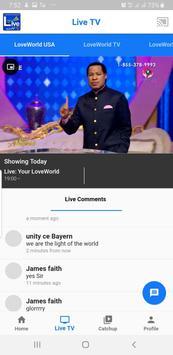 Live TV Mobile screenshot 1