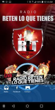 Radio Reten lo que Tienes poster