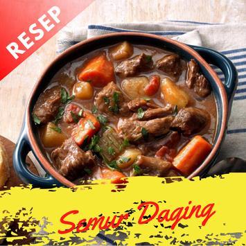 Resep Semur Daging Sapi Spesial poster