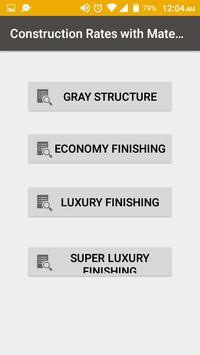 Construction Cost Calculator screenshot 3