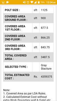 Construction Cost Calculator screenshot 2