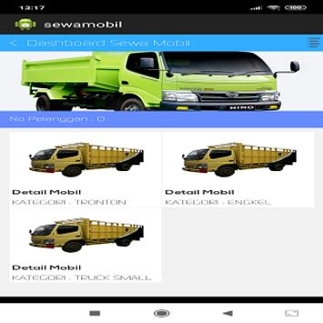 RentCar Polsri screenshot 1