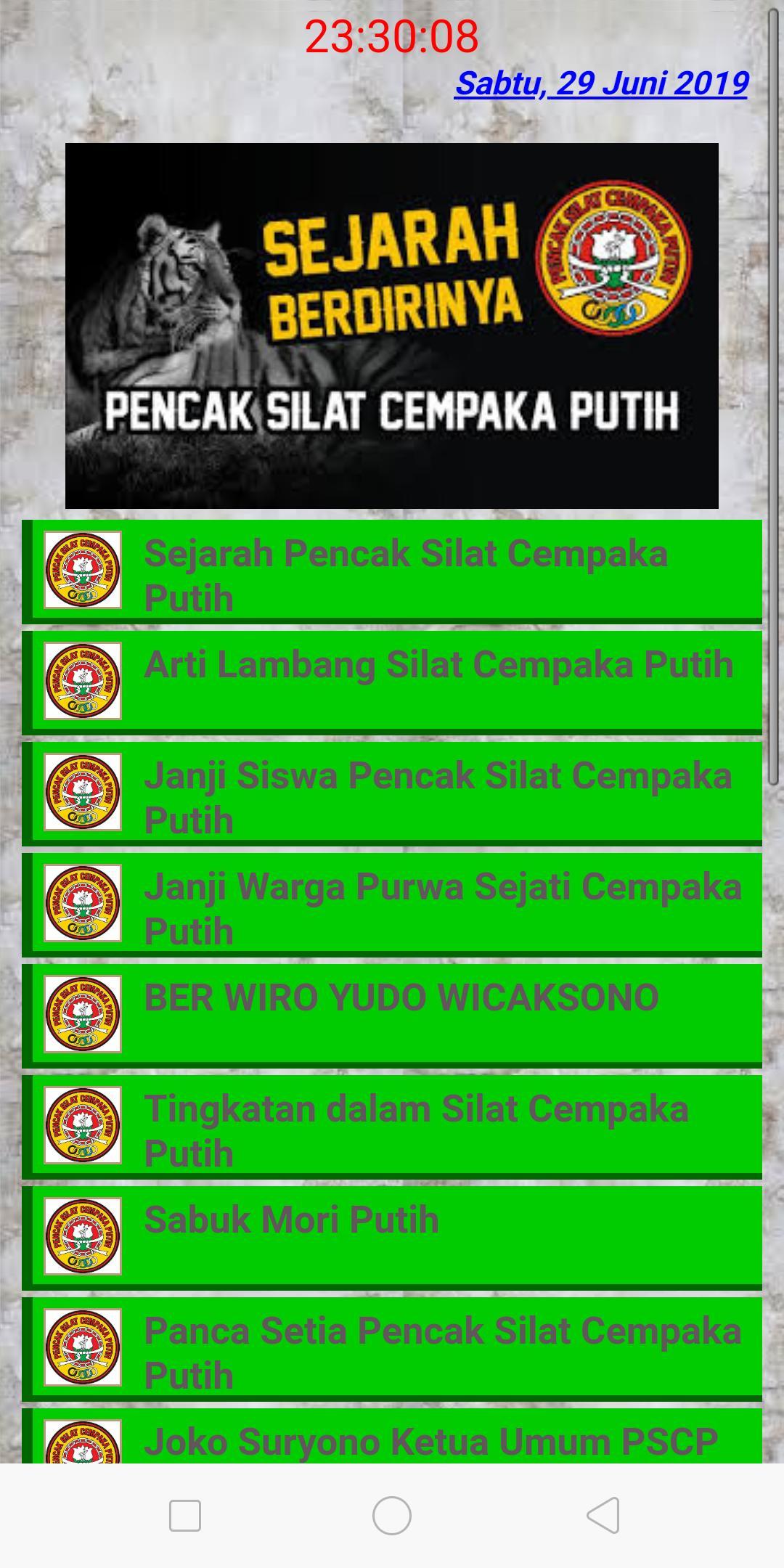 Silat Cempaka Putih For Android Apk Download