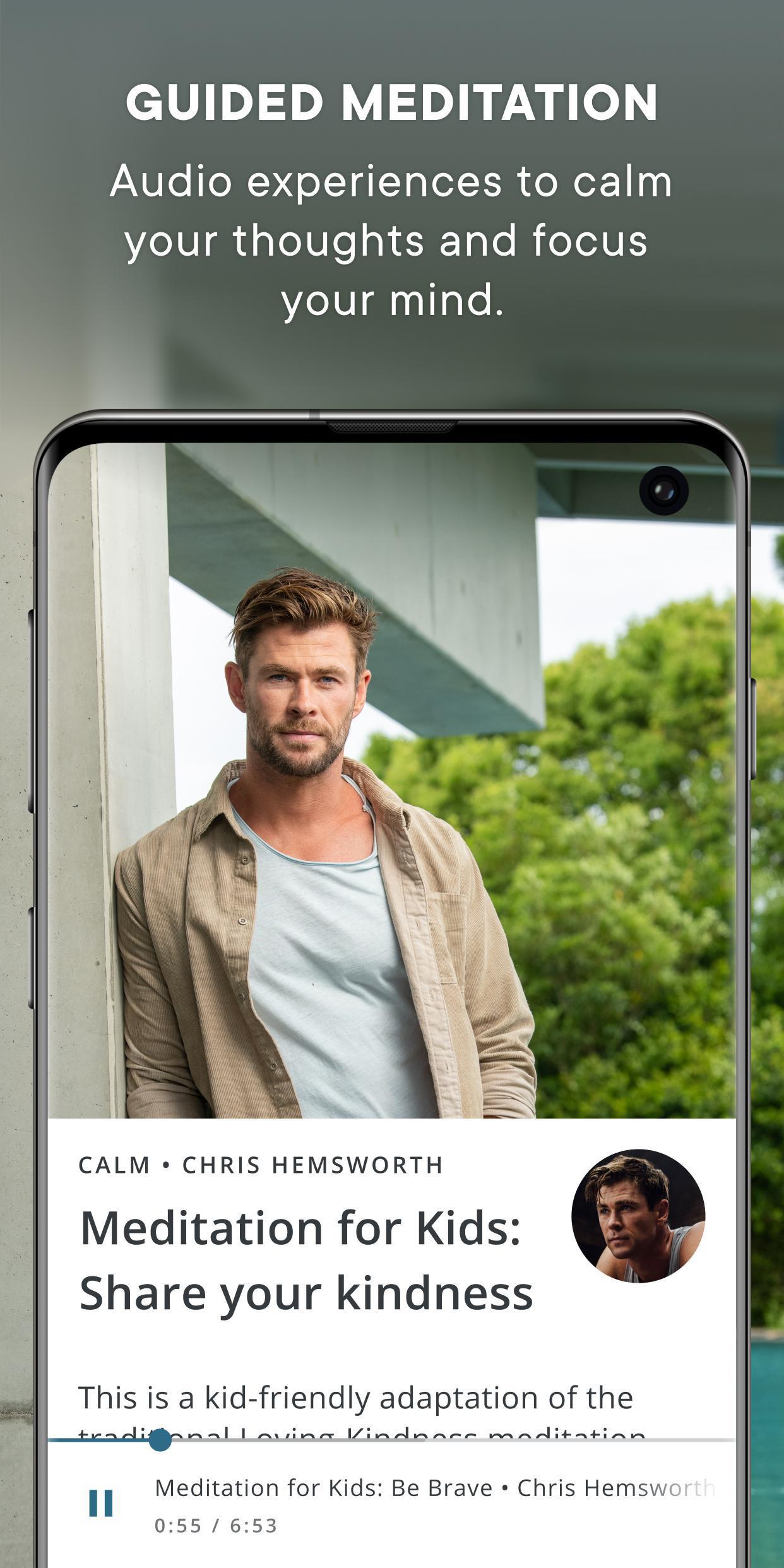 Centr, by Chris Hemsworth poster