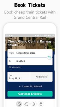 Grand Central Rail UK - Tickets & Timetable poster