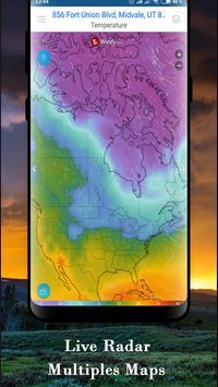National Weather Forecast services & Radar channel screenshot 5