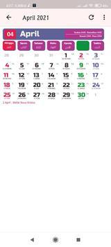 Kalender 2021 screenshot 4