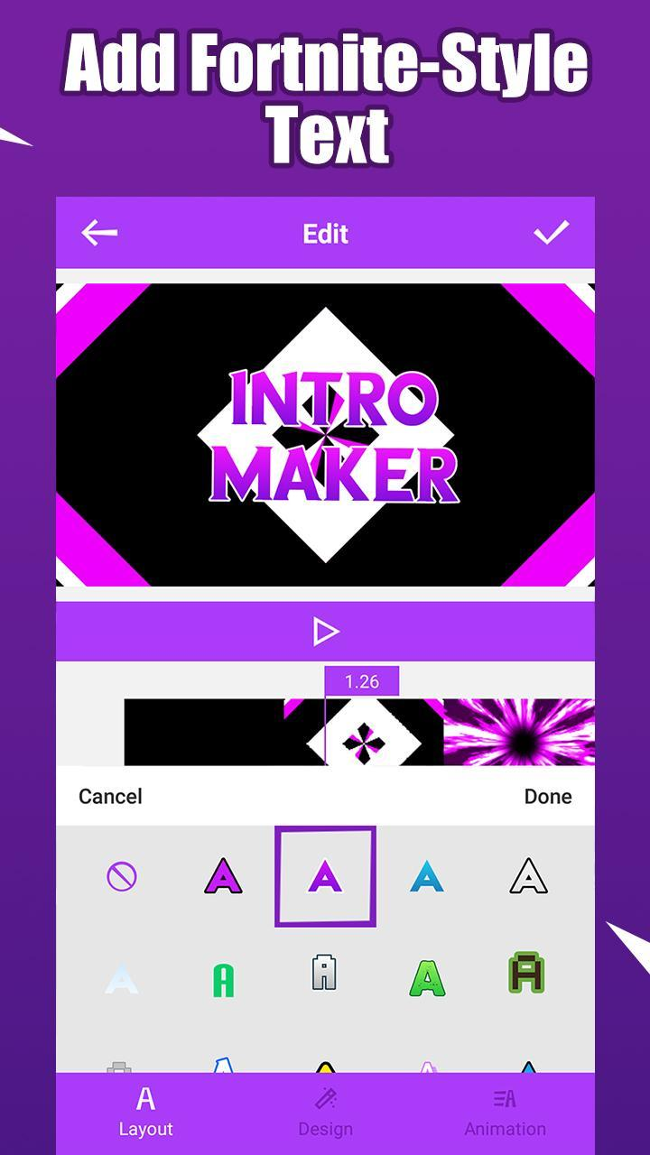 Fort Intro Maker for Android - APK Download