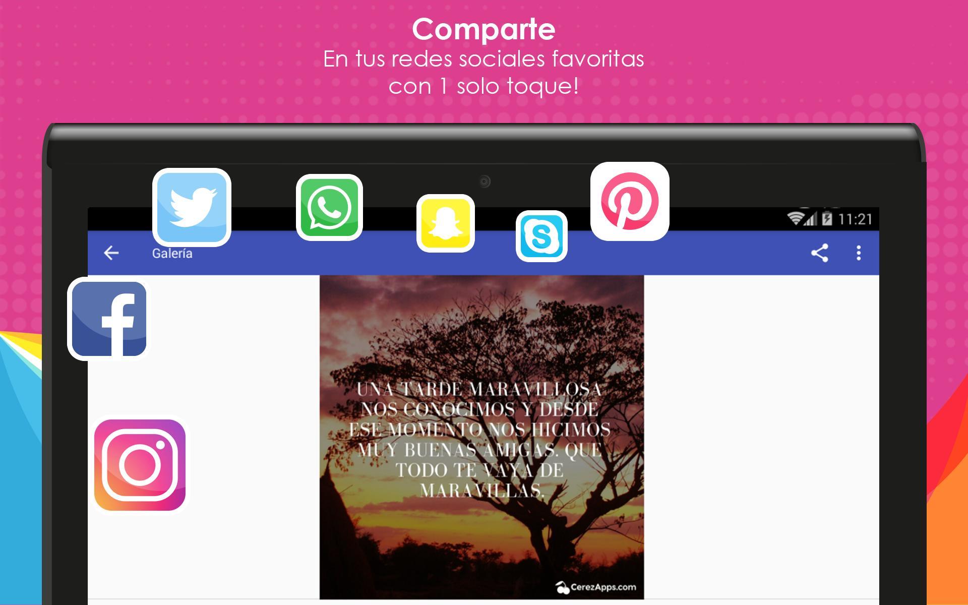Frases Bonitas Buenas Tardes для андроид скачать Apk