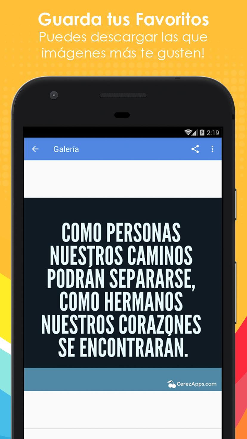 Frases Bonitas Para Hermanos For Android Apk Download