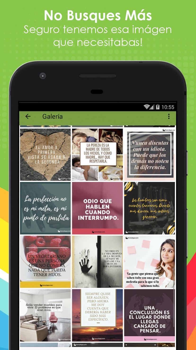 Frases Graciosas Con Imágenes For Android Apk Download