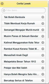 Cerita Lawak screenshot 1