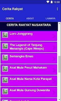 Cerita Rakyat Nusantara Indonesia Lengkap 2019 screenshot 2