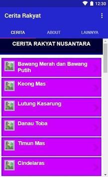 Cerita Rakyat Nusantara Indonesia Lengkap 2019 screenshot 5