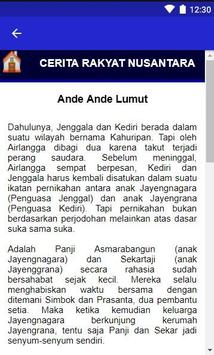 Cerita Rakyat Nusantara Indonesia Lengkap 2019 screenshot 8