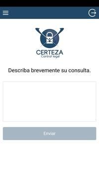 Certeza Control Legal screenshot 3